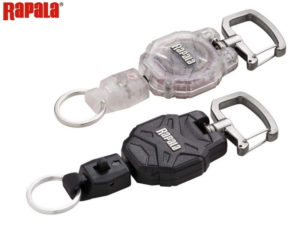 Rapala RCD Small Retractable Lanyard-Klar