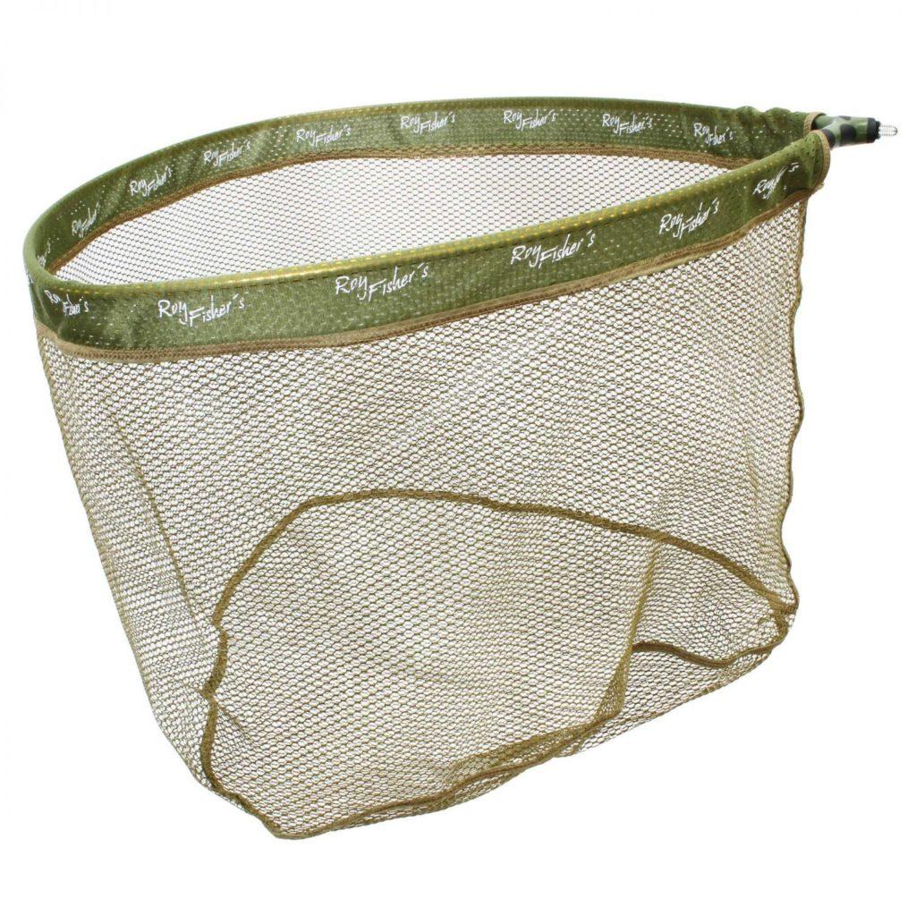 Roy Fishers Gummieret Fangstnet Safely Rubber Net