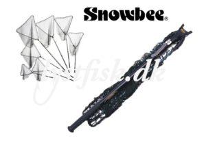 Snowbee teleskopisk fangstnet-L