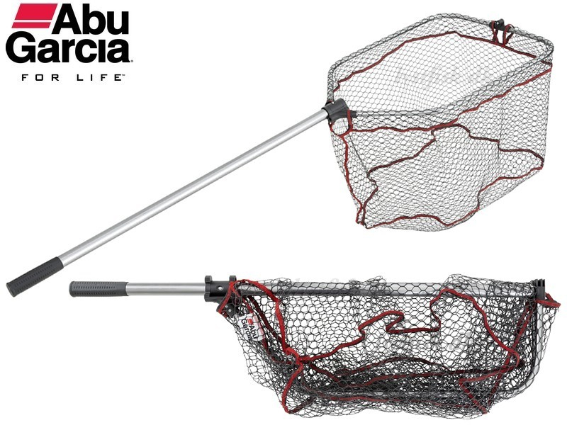 ABU Garcia Folding Landing Net Rubber-XL