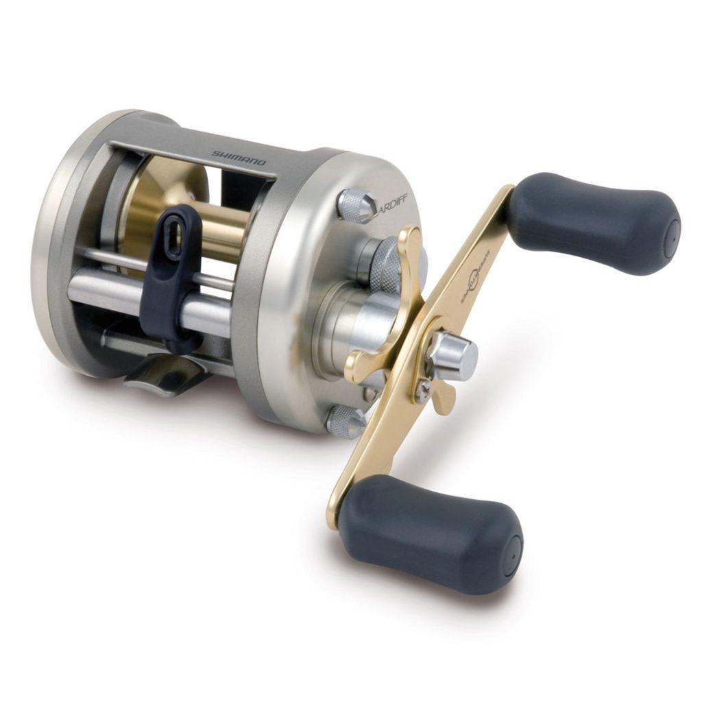 Shimano Cardiff Venstrehånds Baitcast Multihjul